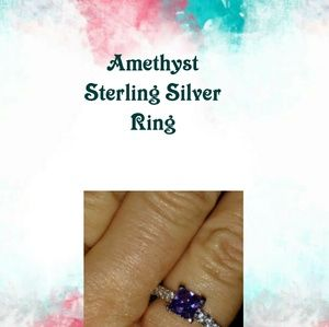 Jewelry - Amethyst Sterling Silver Ring